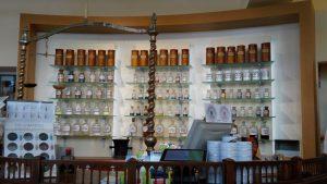 Вътрешност на ротенбургската аптека