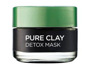 LÓreal Pure Clay Detox маската за лице- с много лецитин, но и с ароматизатори
